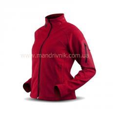 Jacket Trimm Britt Lady fleece (red, L)