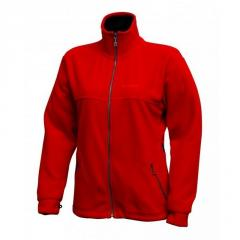 Jacket Pinguin Balu fleece (red, L)