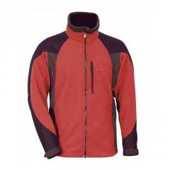 Jacket Pinguin Apex fleece (red, L)