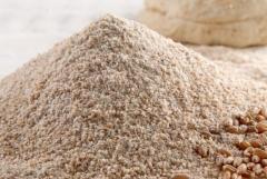 Peeled rye flour