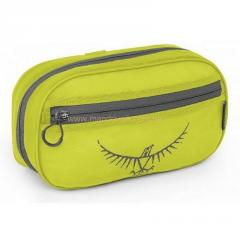 Cosmetics bag of Osprey Washbag zip (electric lime)