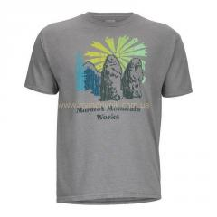 Marmot 53610 Heritage Tee SS t-shirt (8542 athletic, M)