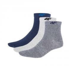 Socks 4F Socks SOM001 set 3 couples (denim