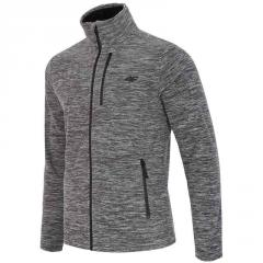 Кофта 4F Fleece H4Z17-PLM001 (1945 dark gray melange, S)