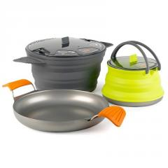 Набор посуды Sea to Summit AXSET32  XSet32- 8-Pan+2,8 Pot+1.3 Ket (grey)