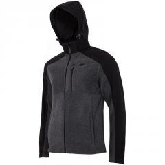 Jacket 4F Fleece H4L17-PLM002 (1945 dark gray