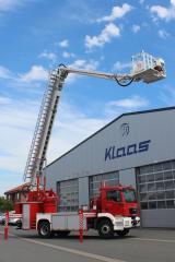 Пожарная автовышка KLAAS