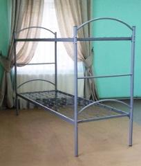 The bed is army 1-2-level