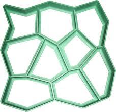 Form for a garden tile