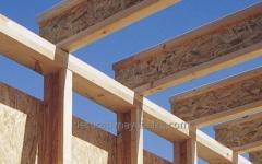 Строительные деревянные балки