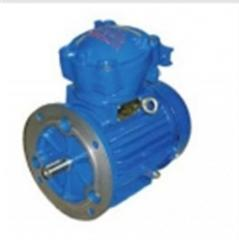 Electric motors are explosion-proof.