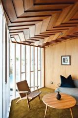 Подвесные потолки из дерева