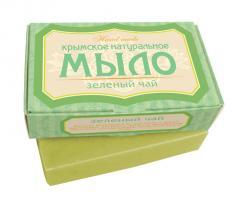 Мыло натуральное Зеленый чай (крымское) Мыло