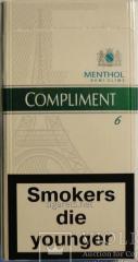 Сигареты Комлимент деми ментол