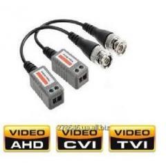 V_deobalun TVI CVI AHD CVBS Video Balun Turbo HD