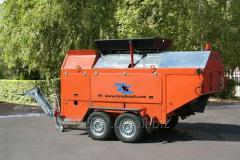 RA-802 asphalt regenerator + miniroad oiler as a
