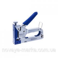 Степлер регулируемый с обрезиненной ручкой, 4-14мм SGA0414 Standart