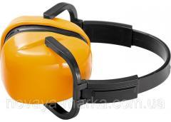 Навушники захисні, складні, пластмасові дужки Sparta 893555