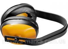 Навушники захисні, пластмасові дужки Sparta 893605