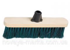 Щітка дерев'яна для підмітання підлоги, 280 мм, без держака, Сибртех 84615