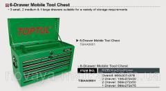 Ящик Для Инструмента 6 Секций 660 L X307 W...