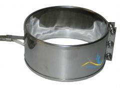 Кольцевой нагреватель нержавеющий ЭНК 100x70/0,8x230