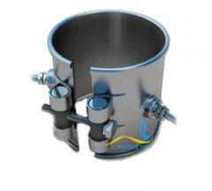 Кольцевой нагреватель нержавеющий ЭНК 150x130/1,85x220
