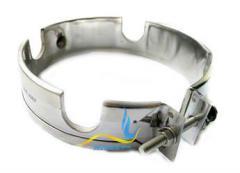 Кольцевой нагреватель нержавеющий ЭНК 200x40/0,35x230