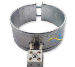 Кольцевой нагреватель нержавеющий ЭНК 240x90/2,5x380