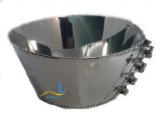 Кольцевой нагреватель нержавеющий ЭНК 360x180/2,3x220