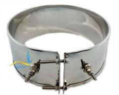 Кольцевой нагреватель нержавеющий ЭНК 220x40/0,8x220