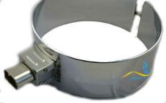 Кольцевой нагреватель нержавеющий ЭНК 130x40/0,4x380