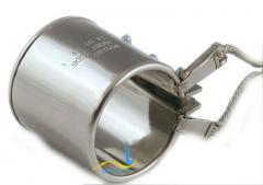 Кольцевой нагреватель нержавеющий ЭНК 75x38/0,75x230
