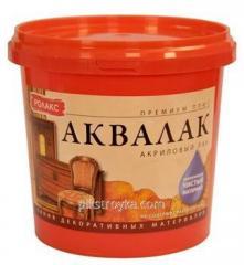 Lach Akvalak 3,0kg semi-gloss Rolaks 1/4
