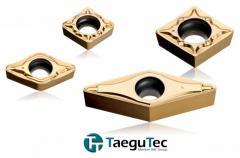 Пластины с положительной режущей кромкой в сплаве TT8080 (T-Turn)