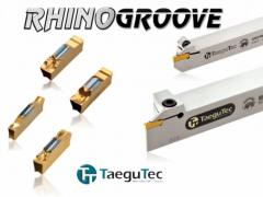 The RhinoGroove series for pieces and processings