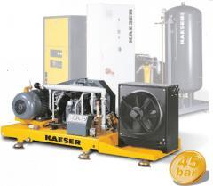 Бустеры высокого давления Kaeser N 753-G до 45 бар (до 9760 л/мин)