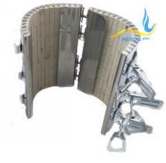 Керамический кольцевой нагреватель ЭНКк 155x300/10,0x400