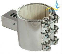 Керамический кольцевой нагреватель ЭНКк 160x200/8,0x380