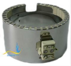Керамический кольцевой нагреватель ЭНКк 170x200/7,5x380
