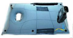 Плоский нагреватель нержавеющий ЭНП 190x150/1,2x220