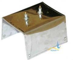 Плоский нагреватель нержавеющий ЭНП 150x150/0,9x220