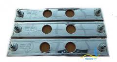 Плоский нагреватель нержавеющий ЭНП 290x40/0,4x110