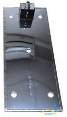Плоский нагреватель нержавеющий ЭНП 350x150/2,1x220