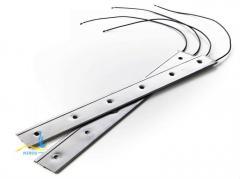 Плоский нагреватель нержавеющий ЭНП 500x40/0,8x230