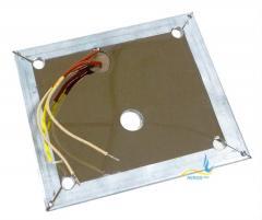 Плоский нагреватель нержавеющий ЭНП 140x140/0,7x220
