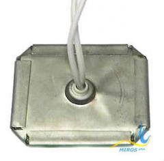 Плоский нагреватель нержавеющий ЭНП 55x60/0,25x110