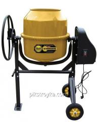 Concrete mixer of 160 l, power 650W, pig-iron gear wheels of BudmonsteR Prime 1/1