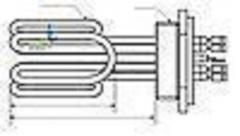 Block of heaters of 15,0 kW