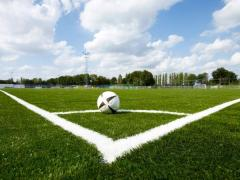 Artificial grass for soccer, a lawn for the soccer field